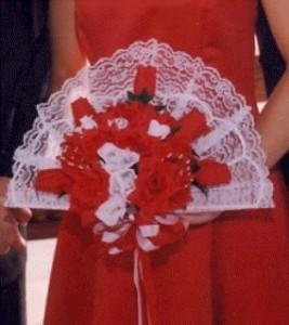 Floral design course - Fan Bouquet for wedding