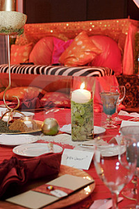 Bohemian theme wedding in theme wedding planner certification program.