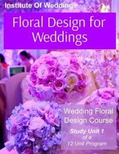Floral Design for Weddings - Wedding Floral Design Course Book