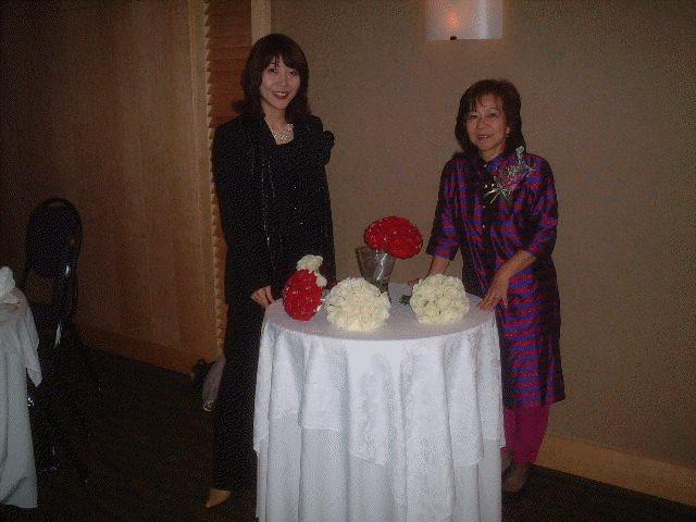 Wedding Floral Design students