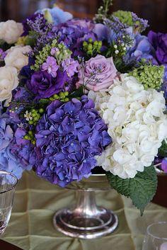 Hydrangea wedding flowers