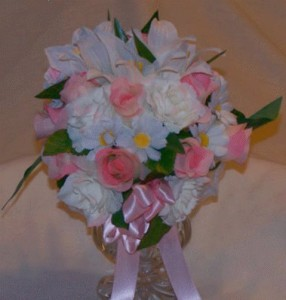 Wedding Floral Design Course - Spring Wedding Bouquet