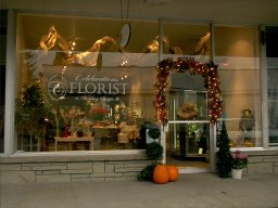 A shop opened by students of our wedding floral design classes online.