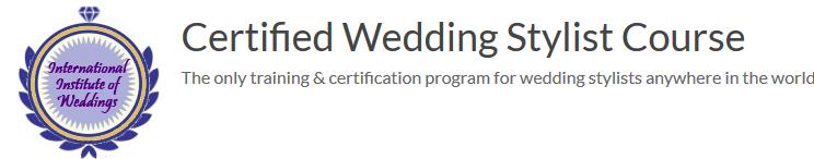 Wedding Stylist course